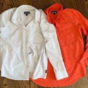 Patagonia Long-Sleeved fishing shirt
